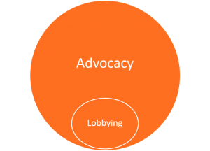 advocacy lobbying graphic
